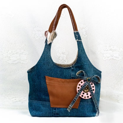 Ostoskassi Lilly's Little Book Bag Heart'n Flowers