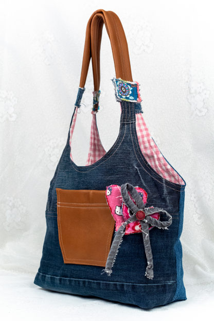 Laukku Lilly's Book Bag Pink'n Hearts